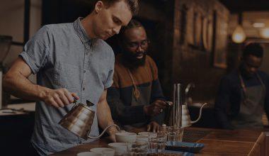 در چند ثانیه یک قهوه خوش مزه درست کنید