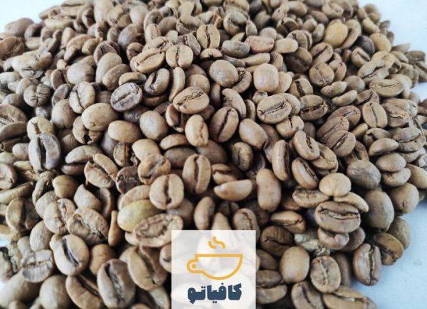 دانه قهوه برزیل لایت رست