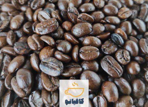 دانه قهوه عربیکا چین مدیوم رست