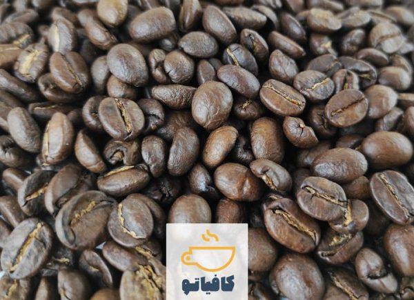 دانه قهوه تانزانیا مدیوم رست